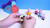 Peppa Pig Play Doh Fun Factory Machine Peppa's Dough Set Hasbro Toys Juguetes de Plastilina Part 2