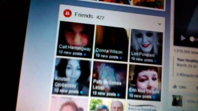 Facebook friends list adnuetments