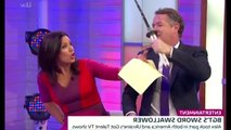 Piers Morgan swings BGT star's sword at Susanna Reid on GMB