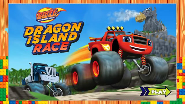 Blaze and the Monster Machines, full episode Dragon Island Race, Blaze: Race to the Rescue!!