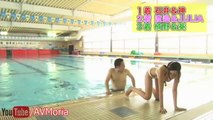 SEXY Funny Japanese Game Show with Hot Bikini Models at Pool - Part 2   FUNNY GAME SHOW