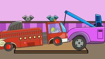 Peppa Pig Tow Truck / Monster Trucks Crashes / Vehicles for Children / Episode 77