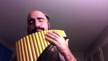 Pans Labyrinth Mercedes lullaby Pan Flute