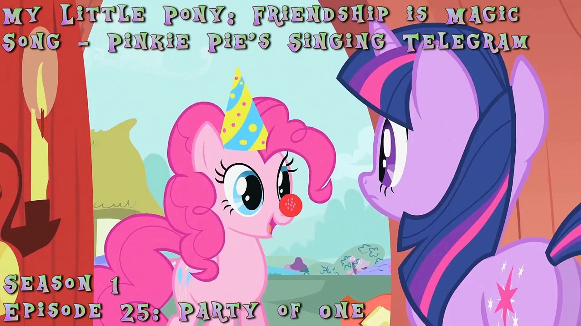 My Little Pony: Friendship is Magic - Pinkie Pies Singing Telegram