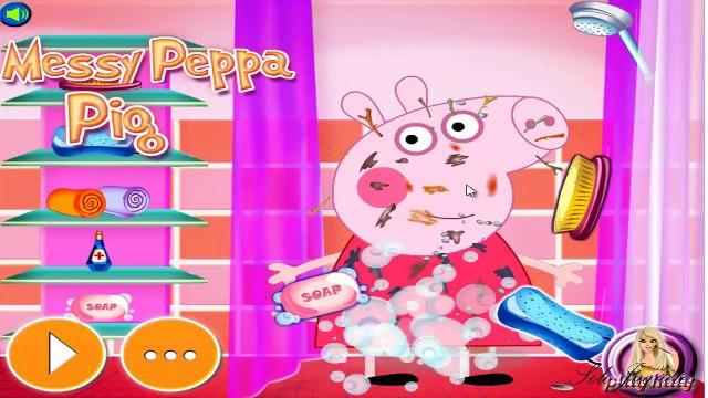 Peppa Pig Sucia - Limpiar a Peppa Pig ᴴᴰ ❤️ Juegos Para Niños y Niñas