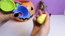 Halloween Play Doh Cupcakes DIY Ghost Pumpkin Witch Mummy How To Make Halloween Crafts Part 1