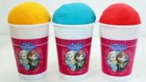 Disney Frozen Ice Creams Play Doh Surprise Eggs Play-Doh Ice Creams Disney Princess Toy Videos