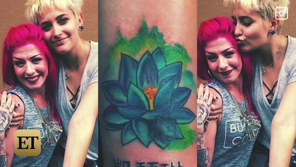 Paris Jackson Gets a Bunch of New Tattoos -- See Her Lip, Shoulder and Ankle Ink!