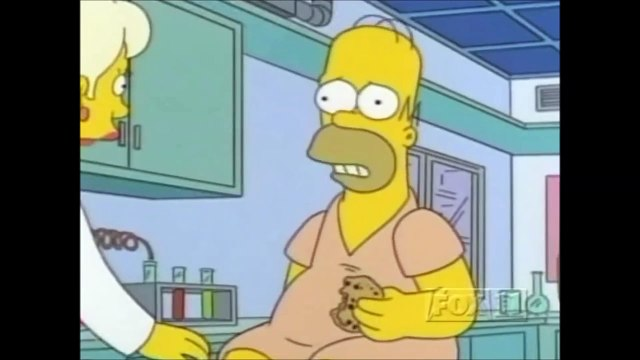 The Simpsons - Crayon in Homers brain