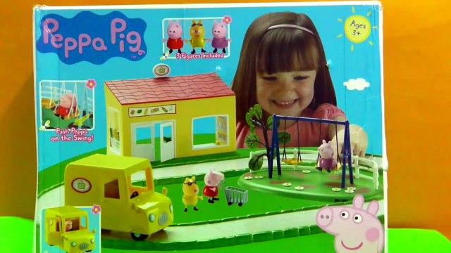 Peppa Pig Supermarket Playset [Peppa pig shopping Toys]