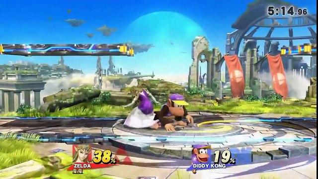 WiFi Battle #4 - GM | emmgee (Zelda) vs Orpheus (Diddy)