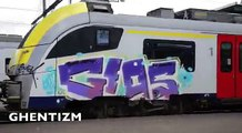 GRAFFITY TRAINS BRUSSELS