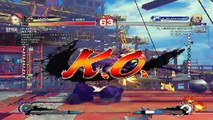 Ultra Street Fighter IV battle: Cammy vs Gouken
