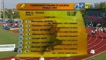 800 metri uomini Finale Oro Campionato di società assoluto Caorle 2009