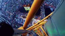 Ascension vertigineuse de la Lotte Super Tower (555 mètres)