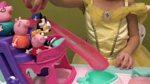 Peppa Pig Vacation in Misterious Island, Disney Minnie and Daisy Boat, Mermaids