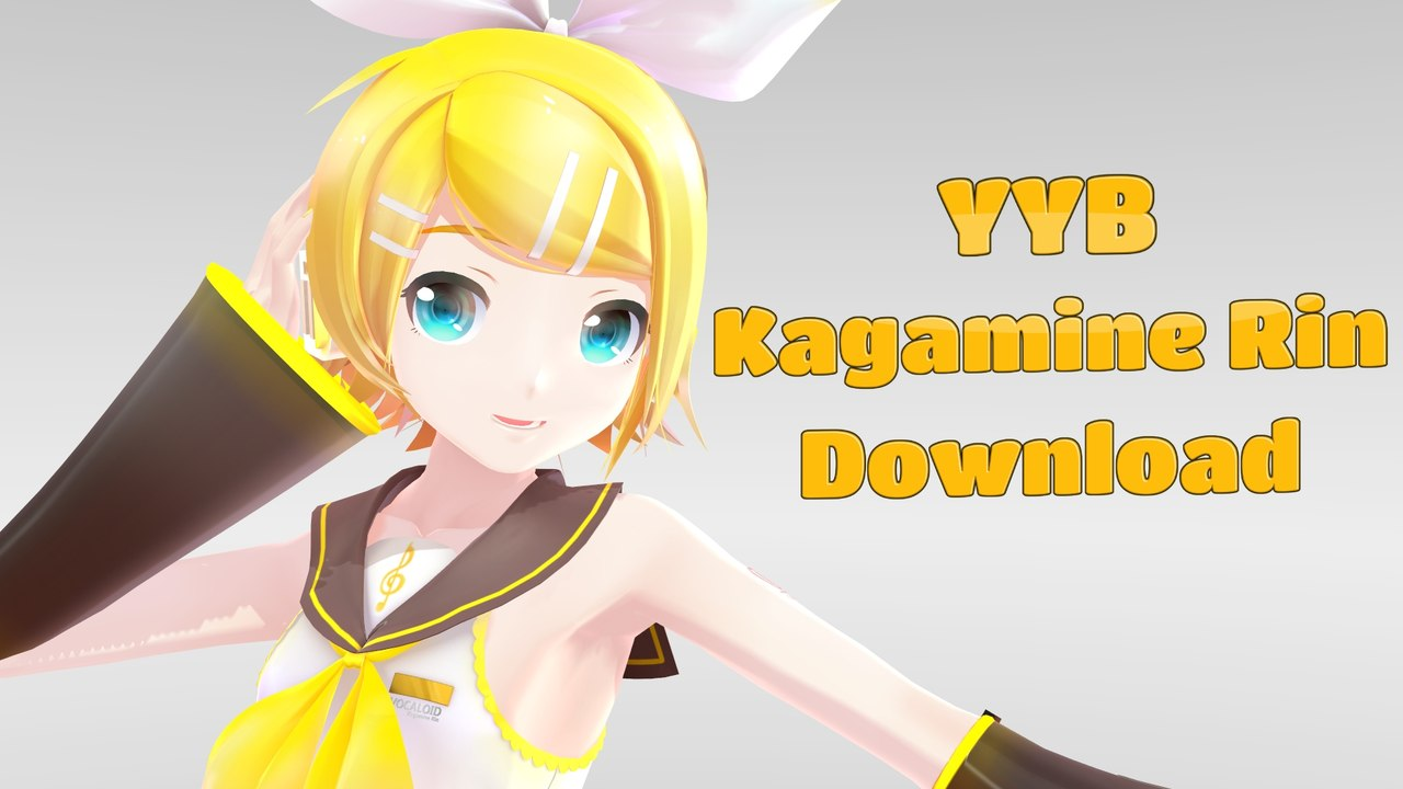 [MMD DL Series] YYB Kagamine Rin - video dailymotion