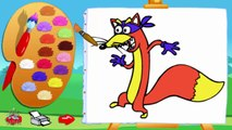 Color with Dora Game Online - SWIPER Painting Games - Dora ...