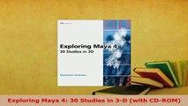 Exploring 3d Animation with Maya 7 [PDF Download] Exploring 3d