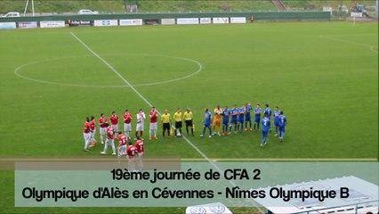 [CFA 2 groupe D - 19è J] OAC - Nîmes Olympique B : 1-0