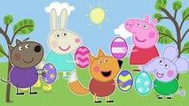 Easter Eggs Peppa Pig Finger Family / Nursery Rhymes Lyrics