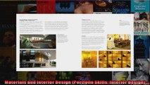 Read  Materials and Interior Design Portfolio Skills Interior Design  Full EBook
