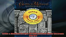 READ book  Gothic  Medieval Designs CDROM and Book Dover Electronic Clip Art  FREE BOOOK ONLINE
