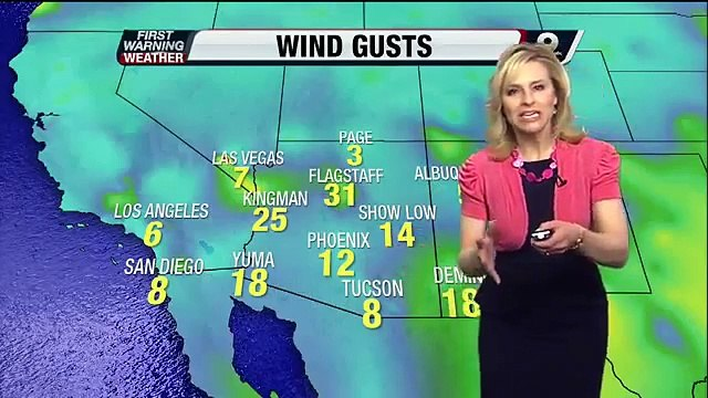 Chief Meteorologist Erin Christiansen's KGUN 9 Forecast at 6:00PM Thursday, May 02, 2013