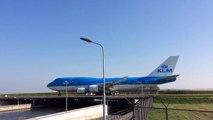 Taxiing & Take Off KLM Boeing 747 -400 & KLM Boeing -Asia & 747-400 AMS/EHAM