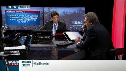 #AskBourdin live-web vidéo Jean-Jacques Bourdin répond aux questions des internautes