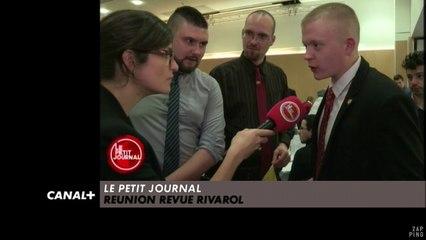 « Le rétablissement d'une France aux Français, où les Français sont naturellement issues de souches Européennes » - Le Zapping du 12/04 - CANAL +