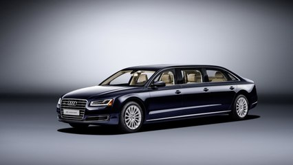 First Audi A8 L Extended Made on Special Demand