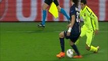 Luis Suarez VS David Luiz-Les deux petits ponts de Suarez sur David Luiz