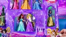 Play Doh Disney Princess MagiClip Dolls get Playdough Mermaid Tails Ariel Belle Princesas Magic Clip