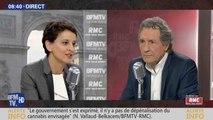 Najat Vallaud-Belkacem fait un lapsus sur la candidature de François Hollande en 2017 - ZAPPING ACTU DU 12/04/2016