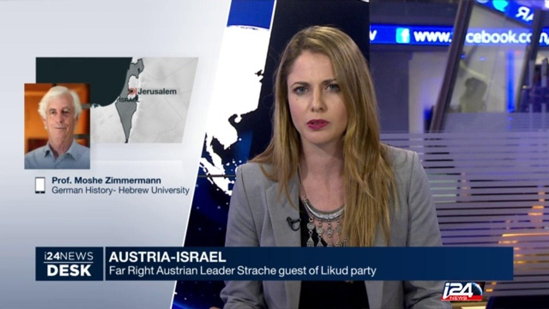 Austria-Israel: Far right Austrian leader guest of Likud party