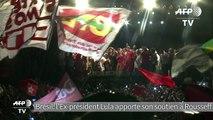 """Brésil: Lula contre les """"putschistes"""" voulant renverser Rousseff"""