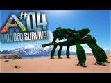 Ark Modded Survival - Ep 4 - Ark Futurism Mod Mech Testing! (Multiplayer ark valhalla Gameplay)