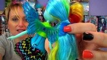 Equestria Girls Rainbow Rocks Octavia, Rainbow Dash, Fluttershy and Pony Sets My Little Pony