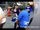 Punjabi Tharki BABA dance with Gori (hot Chick) - Baba ve