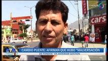 CAMBIO PUENTE AFIRMAN QUE HUBO MALVERSACION DE FONDOS