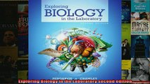 EBOOK ONLINE  Exploring Biology in the Laboratory second edition  DOWNLOAD ONLINE