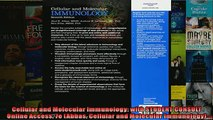 FREE PDF  Cellular and Molecular Immunology with STUDENT CONSULT Online Access 7e Abbas Cellular  FREE BOOOK ONLINE