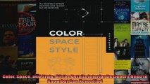 Read  Color Space and Style All the Details Interior Designers Need to Know but Can Never Find  Full EBook