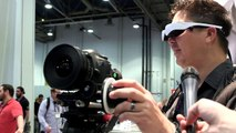 Carl Zeiss at NAB Show 2014 ~ Cinemizer OLED external viewfinder