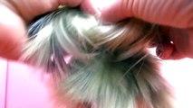Tutoriel coiffure : Nœud de cheveux Lady Gaga / Coiffure Hair Bow comme Lady Gaga   frança