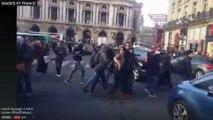 Loi travail : une centaine de manifestants rassemblée gare Saint-Lazare