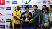Trophy Unveiling of Cool & Cool Presents Haier Mobile Cup 2015 for Pakistan v Zimbabwe T20I