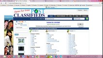 Free classified ads posting in India - video dailymotion