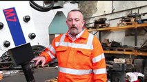 Hydraulic Hammer Greasing On Site - Hydraulic Breaker & Hydraulic Hammer Advice From Hammer Man